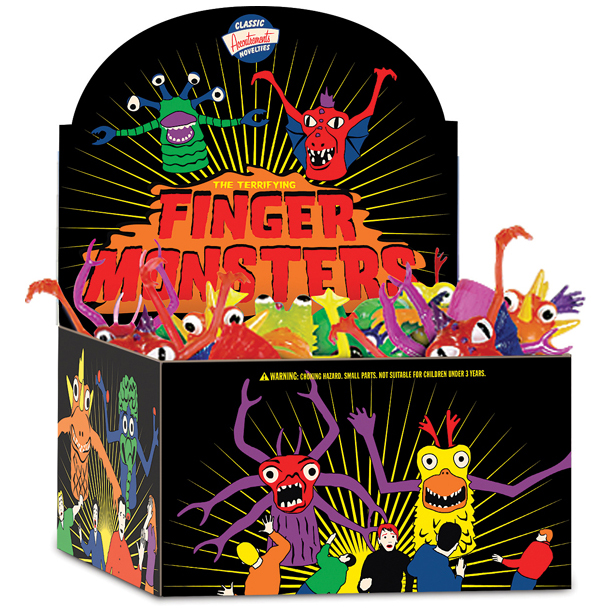 Finger Monsters  CDU (60)