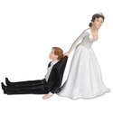 Cake Topper Reluctant Groom