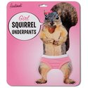 Squirrel Underpants for Girl Squirrels