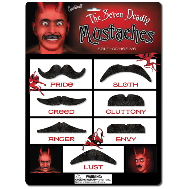 Mustache - Seven Deadly Mustaches