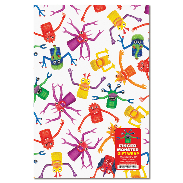 Gift Wrap - Finger Monster