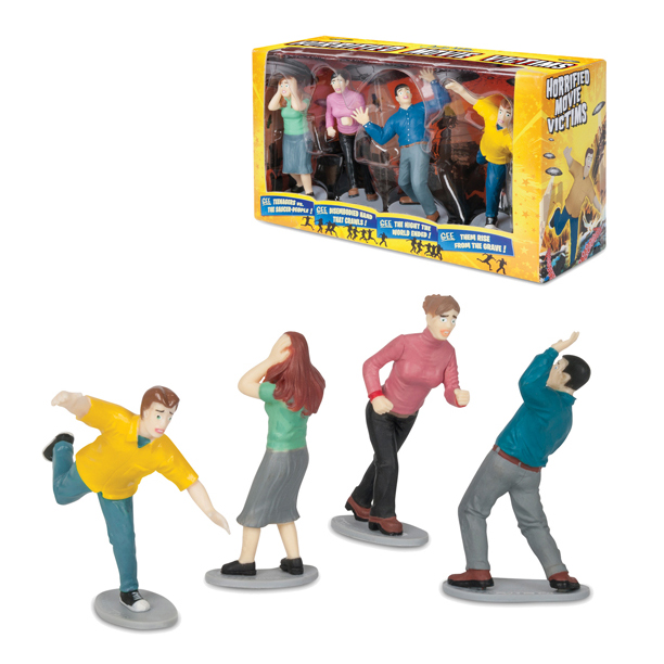 Playset - Horrified Movie Victims 4pc Set