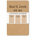 Notebooks - Introvert - Set Of 3