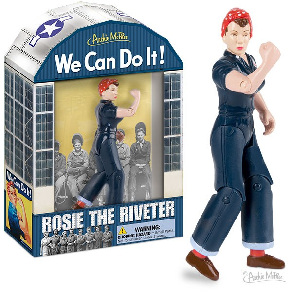Action Figure - Rosie the Riveter