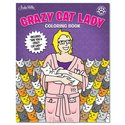 Coloring Book - Crazy Cat Lady