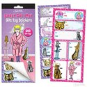 Crazy Cat Lady Gift Tag Stickers