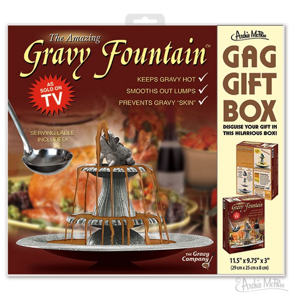 Gag Gift Box - Gravy Fountain