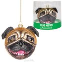 Ornament - Pug Head