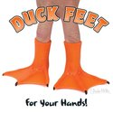 Finger Puppets - Duck Feet CDU(60)