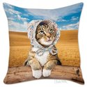Pillow Cover - Cat Bonnet