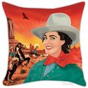 Pillow Cover - Cowgirl