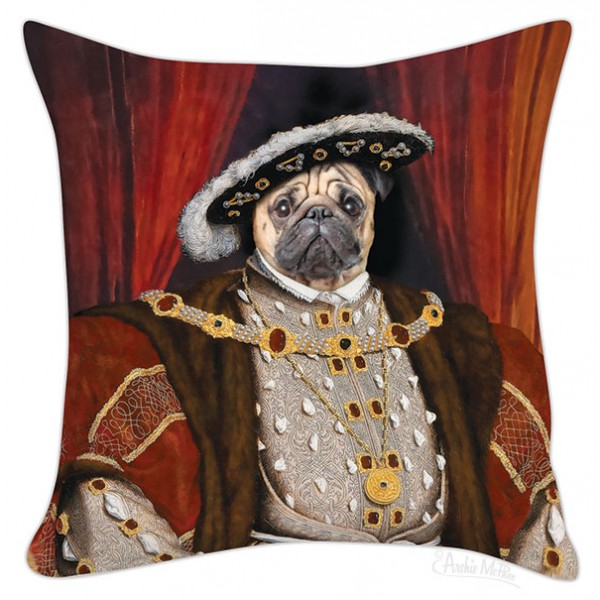 Pillow Cover - Pug