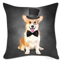 Pillow Cover - Corgi