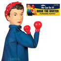 Punching Puppet - Rosie the Riveter