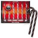 Candy Canes - Coal 6pk