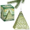 Ornament - Dollar Bill Pyramid