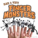 Finger Monsters - Black & White