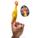 Finger Puppet - Rubber Chicken
