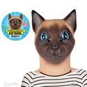 Head Mask - Siamese Cat