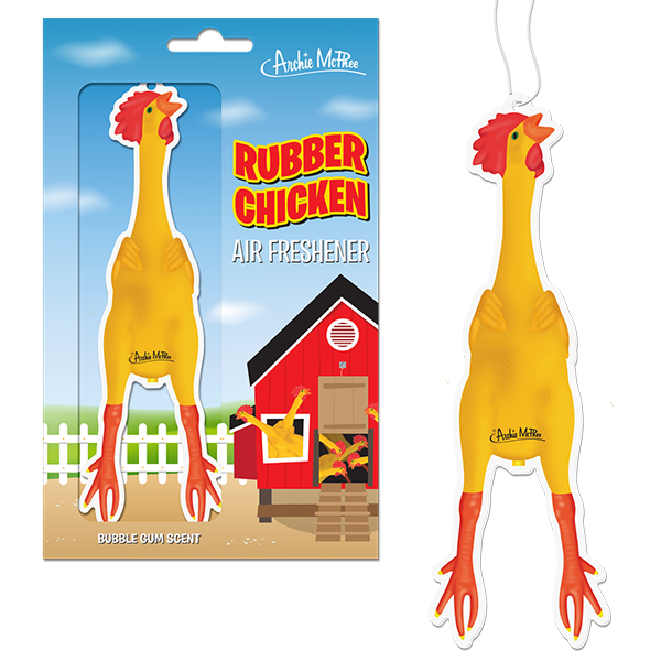 Air Freshener - Rubber Chicken