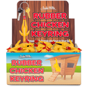 Keyring - Rubber Chicken