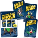 Notebooks - Monster Woman (Set of 3)