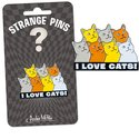 Strange Pin - I Love Cats